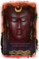 Buddha mit Mond